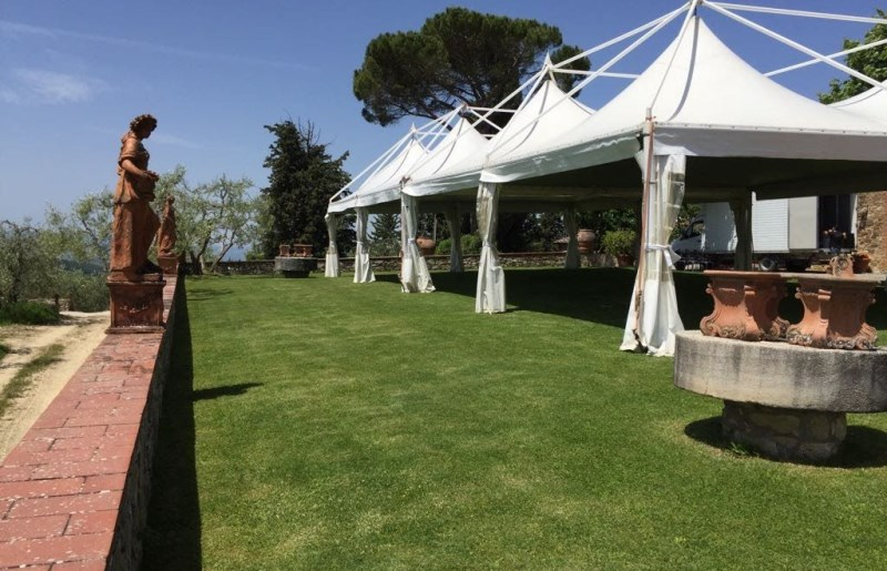 Tensile structures for weddings