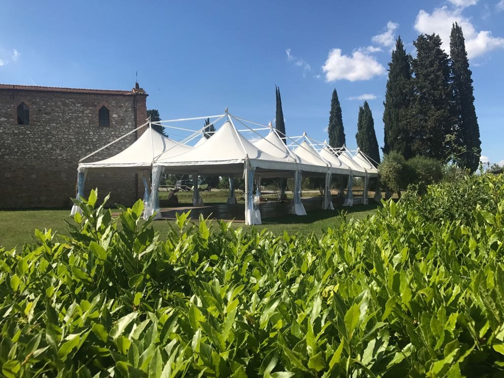 Tensile structure and gazebo rentals for weddings and events